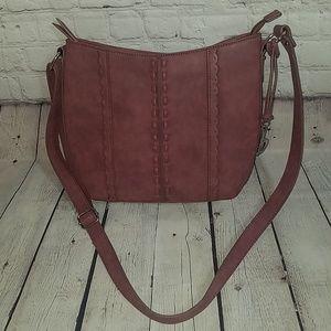 NWOT boc BORN plum colored purse, $149